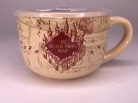 Harry Potter Ceramic Soup Mug Large 24 oz Bowl With Pressure Release Lid