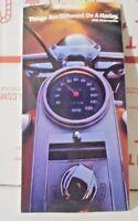 1991 Harley Davidson Motorcycles Dealers Sales Small Brochure
