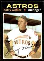 1971 Topps Jvb423 Harry Walker Houston Astros #312