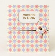 Instax Photo Album Namecard Storage Case Mini Film Book 80 Photos Purple-Square