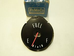 NOS OEM 1964 1/2 1965 Ford Mustang Fuel Gas Dash Gauge Gage + 1965 Falcon