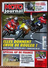 Moto Journal 24/05/2006; Essai Guzzi 1200 Norge/ GP de France/ SUZ SV 650 S/ BMW