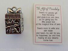 p The GIFT of FRIENDSHIP PRAYER BOX pendant Charm friend pendant joy love ganz