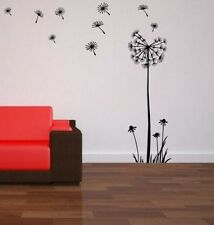 Dandelion Flower Wall Sticker Decal Large Room Sticker 120cm Height BROOMSTICKER