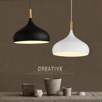 Modern Pendant Light Kitchen Chandelier Lighting Wood Ceiling Lights Home Lamp