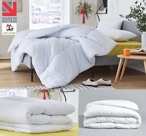 DUVETS ANTI ALLERGY QUILTS BOUNCE BACK SINGLE DOUBLE KING SUPER KING AND PILLOWS