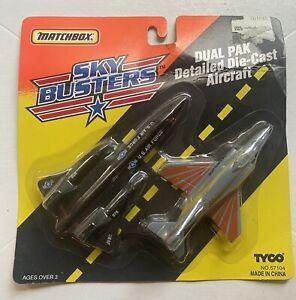 TYCO Matchbox / Sky Busters Dual Pak / SR-71 Blackbird + Phantom F4E / 1994 New