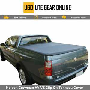 Clip On Ute Tonneau Cover to fit Holden Crewman VY / VZ