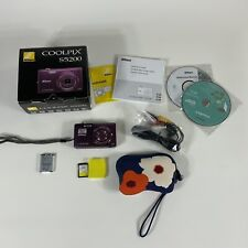Nikon COOLPIX S5200 16.0MP Digital Camera - Plum UNTESTED AS IS for parts