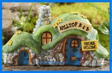 Fairy Garden Miniature Hilltop Bed and Breakfast B&B Fairy House Gc346