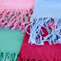 High Quality 100% Pashmina Wool Soft Feel Large Scarf Shawl Wrap Solid Colors