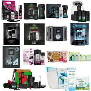 Christmas Xmas Gift Sets Deodorant Antiperspirant Bag Men Women Lynx Dove SIMPLE