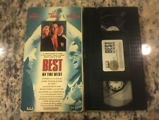 BEST OF THE BEST SVS VHS 1989 ERIC ROBERTS, SALLY KIRKLAND KICKBOXING ACTION!