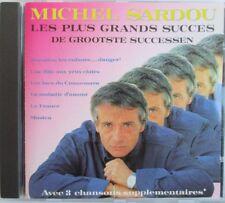"""MICHEL SARDOU - CD """"LES PLUS GRANDS SUCCÉS - DE GROOTSTE SUCCESSEN"""""""