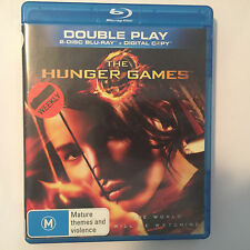 The Hunger Games (Blu-ray, 2012) - NO CASE