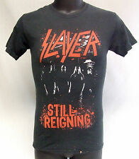 Slayer Still Reigning Heavy Metal Band T-Shirt Size Small Thrashed
