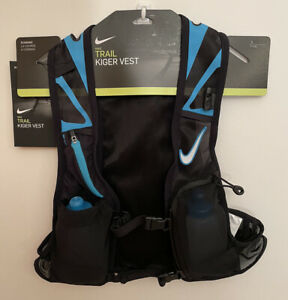 $185 Nike Trail Kiger Running Vest Safety/Reflective/Multi+Dry Pockets