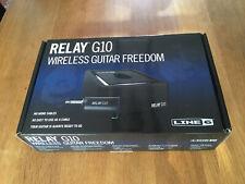 Line 6 Relay G10 Wireless Guitar System In Original Box