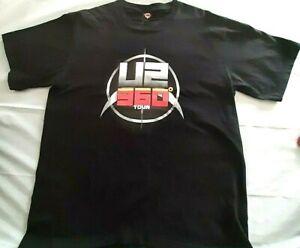 U2 2010 360 World Tour Official Merchandise Shirt Size XL VGC see description.