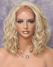 Fashion Everyday Style Lace Front Wig Short Blonde mix Super Natural ppq 613-27