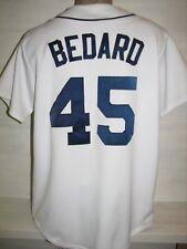 # 25 ERIK BEDARD SEATTLE MARINERS HOME MLB SHIRT JERSEY MAJESTIC SIZE L