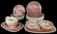 Villeroy und Boch Rusticana ROT Speiseservice 20 tlg. Keramik Teller Service