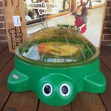 NEW Vintage Little Tikes Learn & Grow Garden Turtle w/ Cover Seeds Tools 1980