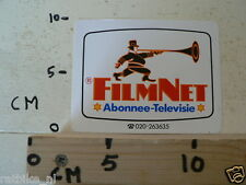 STICKER,DECAL FILMNET ABONNEE-TELEVISIE
