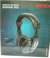 intex mega headphones with sonic boom, pc headphones with mic hs-301b