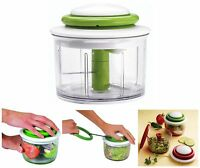 Chef'n Veggichop in Green Vegetable Onion Fruit Nut Chopper Dicer 15639011