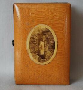 Mauchline Photograph Ware Needle Case Unidenttifed Photo of Gorge Felt Holders