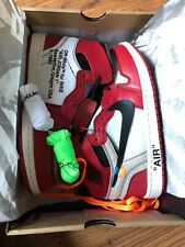 "Nike Air Jordan 1 Retro High x Off White ""The Ten"" Chicago OG 2017"