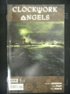 CLOCKWORK ANGELS 5 BOOM COMIC NEIL PEART RUSH MUSIC ANDERSON ROBLES 2014 NM