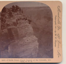 Folks at O'neills Point Grand Canyon of the Colorado AZ Keystone Stereoview 1901