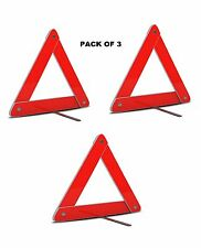 Highly Reflective Emergency Security Safety Triangle for All Vechiles Pack Of 3