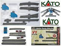 KATO 20-860 START-SET V1 N.10 TRACKS+2 EXCHANGE ELECTRIC Right Left+2 COMMANDS