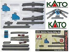 KATO 20-860 START-SET V1 N.10 BINARI+2 SCAMBI ELETTRICI Dx/+Sx+2 COMANDI SCALA-N