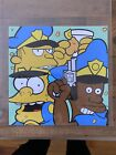 JOHNNY IN PARIS EXCLUSIVE NORTH RELEASE SIMPSONS VARIANT 8x8 PRINT MARK CHRONIC