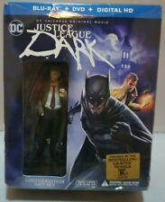 New listing Justice League Dark - Blu Ray, Dvd, Digital - Limited Edition Gift Set