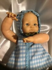 """Vtg Hing Limbs Cameo Miss Peep Baby Doll 1953 15"""" Wearing Clothes & Shoes Diaper"""