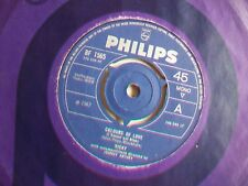 """VICKY - COLOURS OF LOVE ( L'AMOUR EST BLEU ) - UK 7"""" - 1967 - PHILIPS BF 1565"""