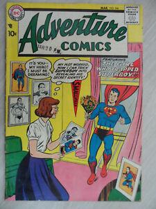 Adventure COMICS #246 featuring SUPERBOY. Mid Grade DC Silver Age Comic. 1958