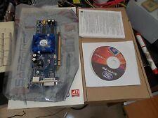 Sapphire X1550 PCI-e 256MB 64Bit DDR2 TWO-DVI-I LP Video Card