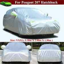 Full Car Cover Waterproof / Dustproof Cover for Peugeot 207 Hatchback 2014-2021