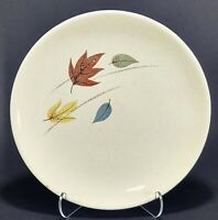"1 Franciscan Gladding McBean Autumn Leaves 6 1/2"" Dessert Plate"