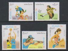 Laos - 1996, Olympic Games, Atlanta set - MNH - SG 1484/8