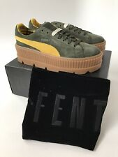 PUMA by Rihanna Cleated Creeper 36626801 Rosin Lemon Vanilla Ice Shoes B M Women Greens 9