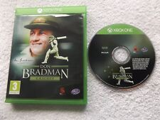 DON BRADMAN CRICKET XBOX ONE FAST POST ( sports/cricket simulation game )