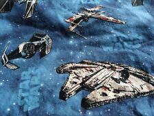 Star Wars Fighters Baby Crib/Toddler Fitted Bed Sheet, Handmade, 100% Cotton