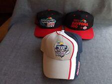 Lot of 3 1993 1997 DAYTONA 500 2008 POCONO PA Raceway Racing Hats Caps NASCAR